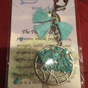 Accessories - TrTree of life key chains. Free over $40.